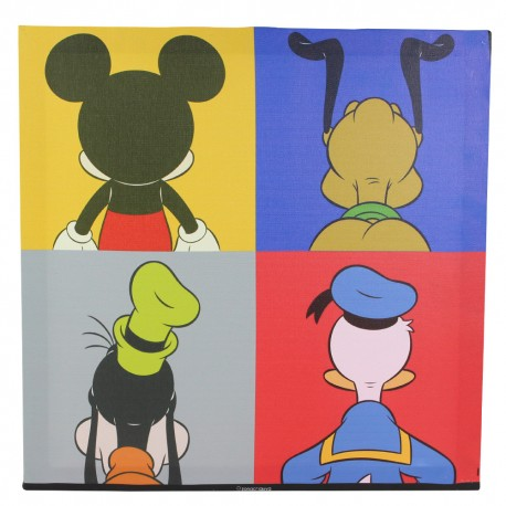 Quadro Back of Mickey and Friends Disney