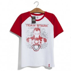 Camiseta Marvel Unissex Time Stark - 2G