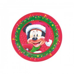 Prato Natal do Mickey Disney