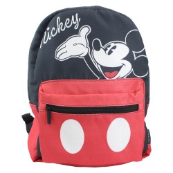 Mochila de Costas Dupla Face Mickey ou Minnie Disney