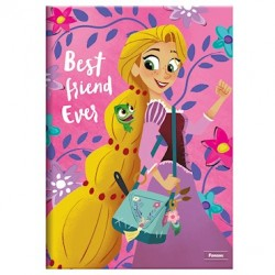 Caderno Brochura Grande Enrolados Disney - Best Friend - 96 folhas