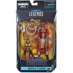 Boneco Nakia Build a Figure Pantera Negra Black Panther Legend Series