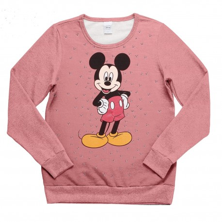 Blusão Strass Mickey Little Black Head