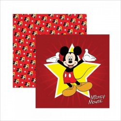 Papel para Scrapbook Mickey Mouse 1 Guirlanda