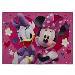 Tapete infantil 110x80cm – Minnie e Margarida