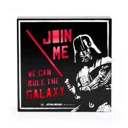 Quadro Luminária We Can Rule the Galaxy Darth Vader Star Wars