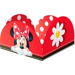 Porta Forminha Red Minnie - 50 unidades