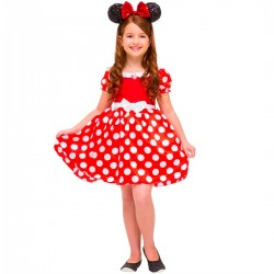 Fantasia Minnie Vermelha Luxo Disney