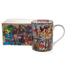 Caneca Mug Classic Marvel Faces Comics Colors Marvel 460ml