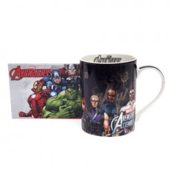 Caneca Mug Black Avengers Marvel 460ml