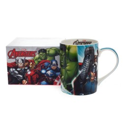 Caneca Mug Blue Avengers Marvel 460ml