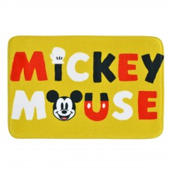 Tapete de Banheiro Soft Touch Mickey Yellow