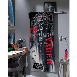 Toalha Velour Darth Vader Star Wars 152cm x 76cm