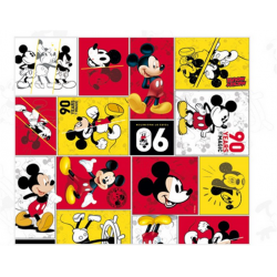 Saco para Presente Mickey 90 Years of Magic 30x44 - Unidade
