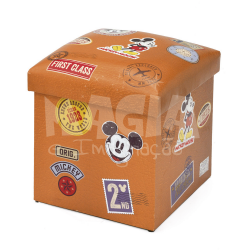 Caixa Puff Mickey Stamps