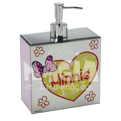 Dispenser Espelhado Minnie Pink Disney