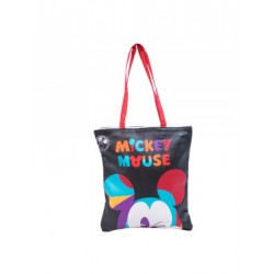Tote Preta Mickey Walking- 90th Years Limited Edition
