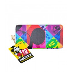 Carteira Mickey Colors - 90th Years Limited Edition