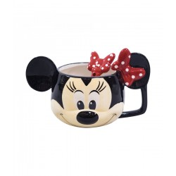 Caneca Cartoon Minnie Head Disney