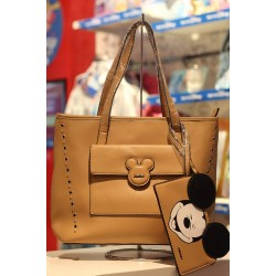 Bolsa Shopper Mickey Head Holes Nude