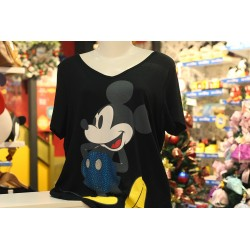 Blusa com Mangas Crystal Classic Mickey - 90th Years Limited Edition - Coleção Plus Size