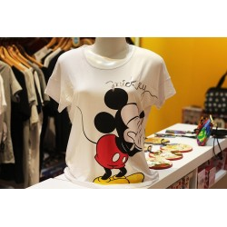 Blusa com Mangas 360º Mickey e Minnie - 90th Years Limited Edition