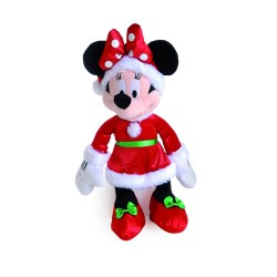 Pelúcia Natal Disney Minnie Mouse 45 cm
