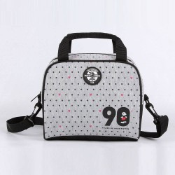 Lancheira Cooler Cinza Poás Mickey Mouse Disney - 90th Years Limited Edition