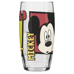 Copo de Vidro Caldereta Oca Friends Disney 300mL Mickey, Pateta e Donald
