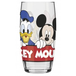 Copo de Vidro Caldereta Oca  Disney 300ml - Mickey, Donald, Pateta, Margarida, Minnie e Pluto