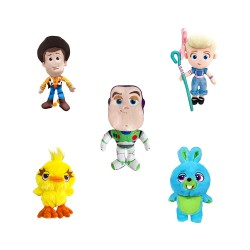 Kit Pelúcias Toy Story 4