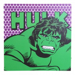 Quadro com Led Hulk Marvel