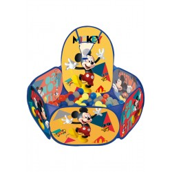 Piscina de Bolinhas Pop-up Baby com Cesta Mickey