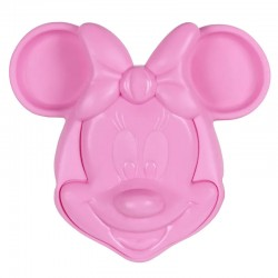 Prato 3D Infantil Minnie Mouse Disney