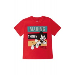 Camiseta Infantil Making Things Happen Mickey Disney