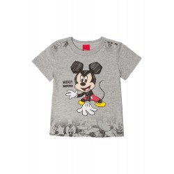 Camiseta Infantil Mickey Cartoon Disney