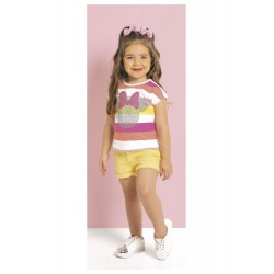 Blusa Infantil Crystal Minnie Disney
