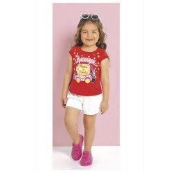 Blusa Infantil My Lemonade Car Minnie Disney