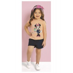 Conjunto Infantil Full of Love Minnie Disney