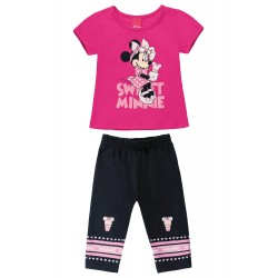 Conjunto Infantil Minnie Sweet Disney