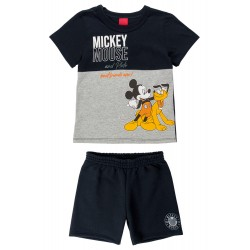Conjunto Infantil Best Friend Ever Mickey e Pluto Disney