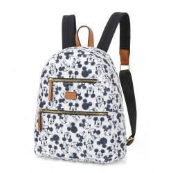 Bolsa Mochila Mickey Sketch Off White