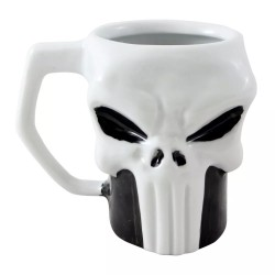 Caneca 3D 400mL Punisher Marvel