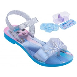 Sandália Infantil Magic Snow Frozen Disney Azul
