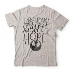 Camiseta Star Wars Rebellions Are Built On Hope
