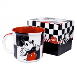 Caneca 350mL Mickey Chess