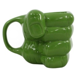 Caneca 3D 350mL Hulk Marvel
