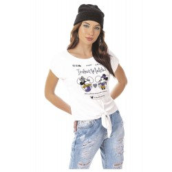 Blusa Mickey e Minnie Instant Match