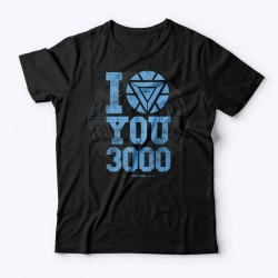 Camiseta Marvel I Love You 3000
