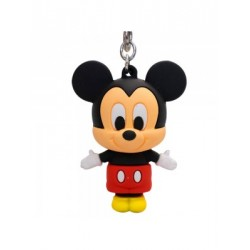 Chaveiro Silicone 3D Mickey